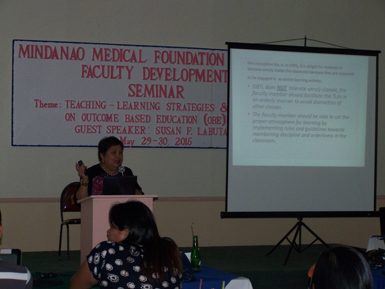 Mindanao Medical Foundation College  Faculty Development Seminar May 28-29, 2015 photo gallery at Linmarr Davao Hotels and Apartelles. It's more FUN in the PHILIPPINES