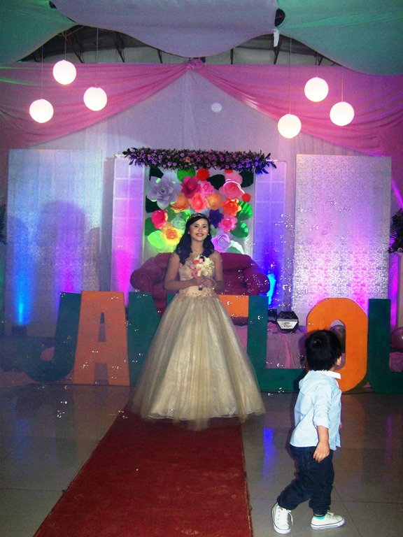 The 18th Birthday of Janilou January 17, 2016 Event picture at Linmarr Davao Hotels and Apartelles. It's more FUN in the PHILIPPINES