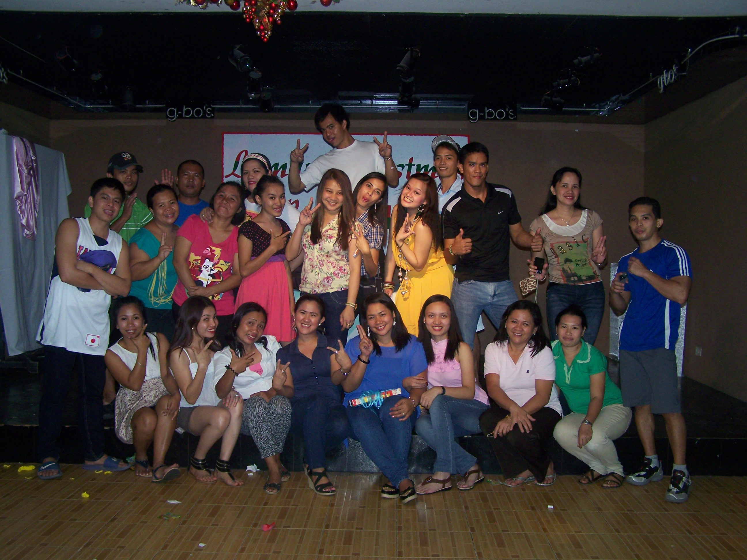 Linmarr Christmas Party Dec. 29, 2012 It's more fun in the Philippines!