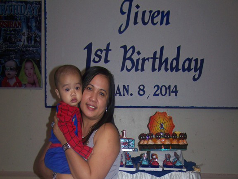 Jiven Birthday Party Celebration January 11, 2014. It's more fun in the Philippines!