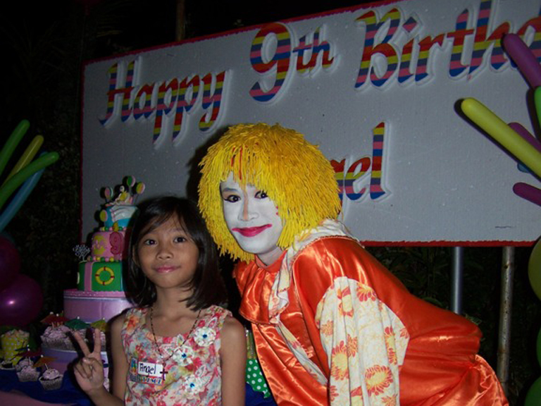 Angel 9th Birthday Party March 11, 2014 event picture at Linmarr Davao Hotels and Apartelles. It's more FUN in the PHILIPPINES