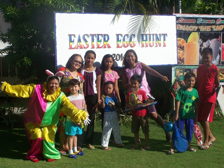 Easter Egg Hunt 2014 April 23, 2014 event picture at Linmarr Davao Hotels and Apartelles. It's more FUN in the PHILIPPINES