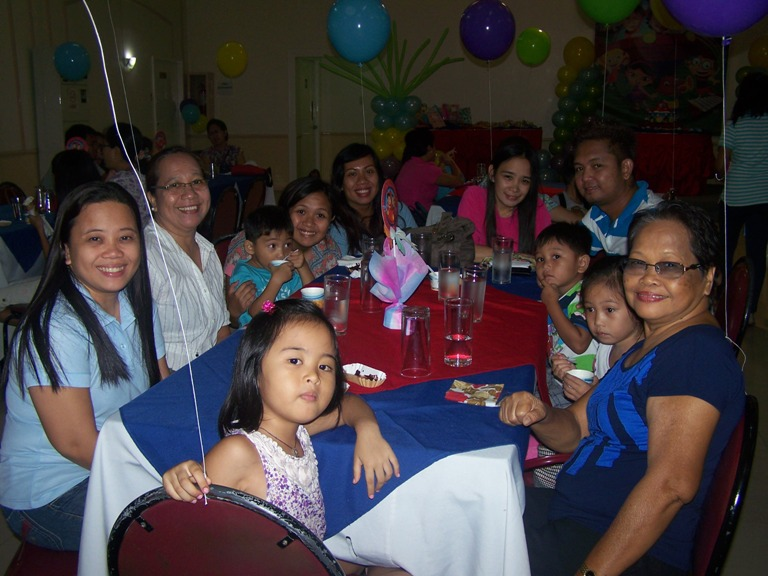 Meg and Clark Birthday Party May 18, 2014 event picture at Linmarr Davao Hotels and Apartelles. It's more FUN in the PHILIPPINES