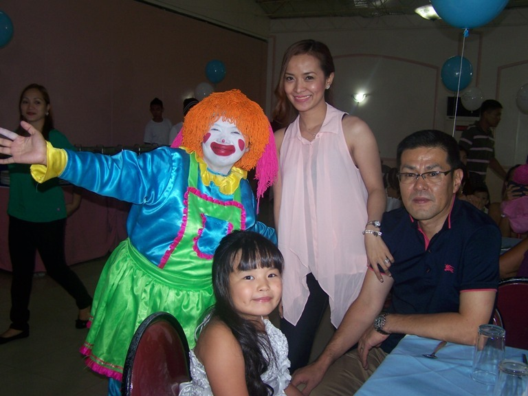 Mizuki Sumida's 7th Birthday Party July 24, 2014 event picture at Linmarr Davao Hotels and Apartelles. It's more FUN in the PHILIPPINES