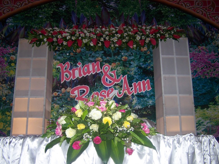 The Wedding Reception of Brian and Rose June 7, 2014  event picture at Linmarr Davao Hotels and Apartelles. It's more FUN in the PHILIPPINES