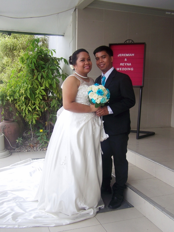 The Wedding Reception of Jeremiah and Reyna September 10,2015, It's more fun in the Philippines!