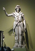 Juno, the goddess who is the patroness of marriage